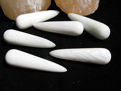Scolecite Wands ~ High Vibration Stone ~ Team Work ~ Manifestation