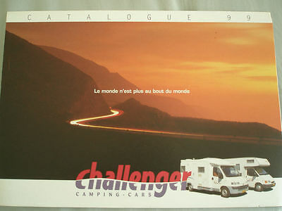 Challenger Camping Cars brochure 1999 French text