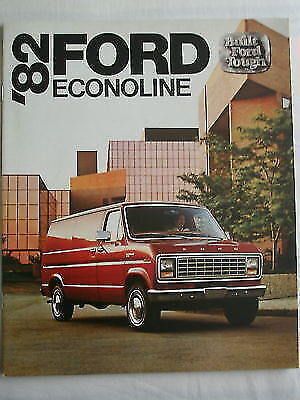 Ford Econolines brochure 1982