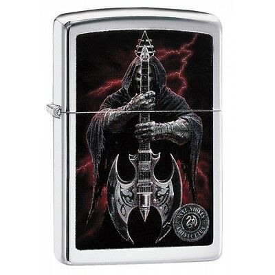 Zippo Anne Stokes Coll 7 High Polish Chrome Regular Lighter Brand New