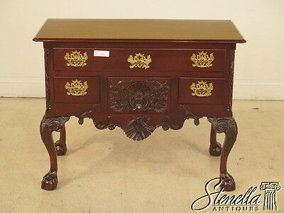 40516E: KINDEL Winterthur Collection Rococo Mahogany Lowboy
