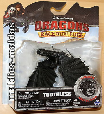 Spin Master Dragons Toothless Ohnezahn Race to the Edge NEU/OVP