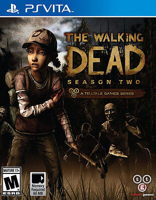 The Walking Dead Season Two 2 PS Vita Game Brand New Sealed