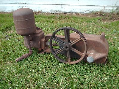 Vintage Water Pump Well Hit Miss Fairbanks Morse Old House Cistern Unknown sink