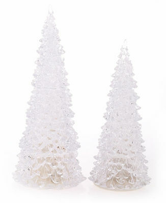 Beautiful Christmas XMAS LED Tree Sparkle Light Snow Colour Home Decor Gift