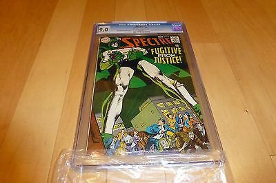 The Spectre 5 CGC 9.0 (1968, DC Comics) Neal Adams story cover art OW to White