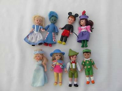 Madame Alexander Lot Of 8 Different Dolls Mcdonalds