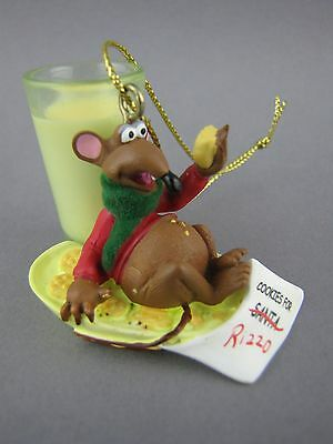 Rizzo Rat Christmas Ornament Disney Muppets 2 inch
