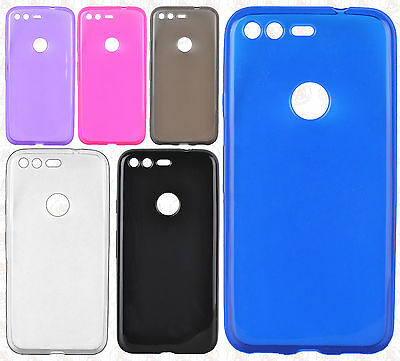 For Google Pixel & Pixel XL Frosted TPU CANDY Gel Flexi Skin Case Phone Cover