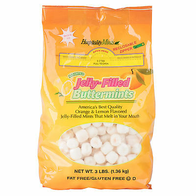 Jelly-Filled Restaurant Buttermints - 3 lb. 113JELLYMINT