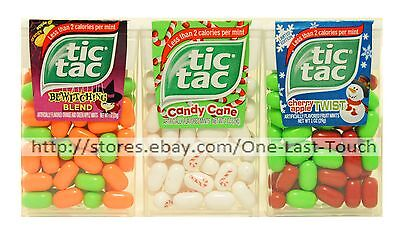 FERRERO^ 1 oz Container TIC TAC Flavored Mints HOLIDAY Exp. 11/17 *YOU CHOOSE*