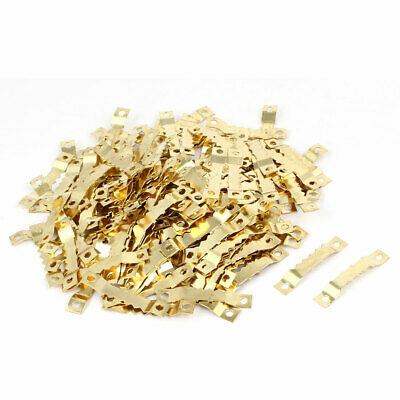 Cross Stitch Picture Frame Saw Tooth Sawtooth Hanger Gold Tone 45x8x3mm 200pcs