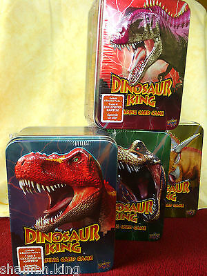 Dinosaur King Trading Card Game deutsch 6 Booster Packs + 1 Exklusive Sega Kids
