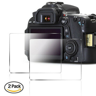 2x Tempered Glass Screen Protector Film For Nikon D7100 D7200 Digital SLR Camera
