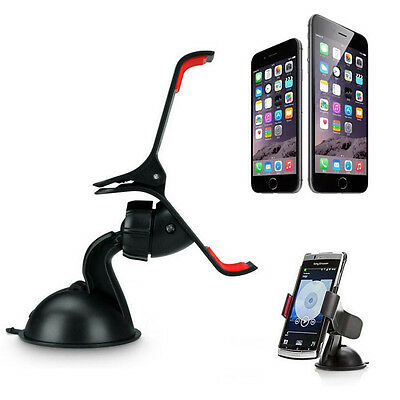 Universal 360° Car Windshield Mount Stand Holder For iPhone 7/7 Plus GPS