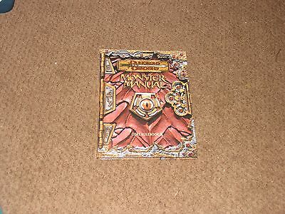 FREE SHIPPING Monster Manual 3.0 Dungeons & Dragons WOTC used