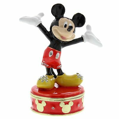 Mickey Mouse Licenced Collectible Disney Classic Trinket Box