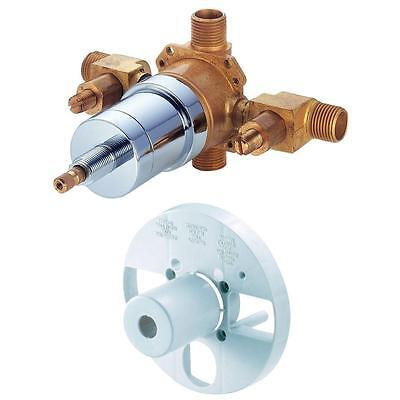 NEW Danze D112000BT 1-Handle Tub & Shower Pressure Balance Valve - Rough Brass
