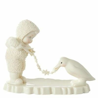 Snowbabies Collectable Figurine - Stringing Garland - 10cm - 4051912 - New