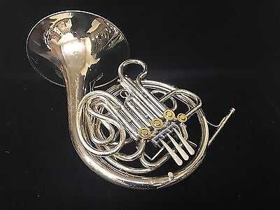 Vintage King 2270 Double French Horn in Nickel Silver