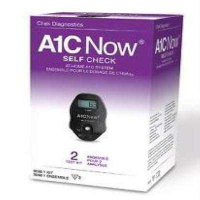 A1cnow Selfcheck 2 Test 1Ea Chek Diagnostics (Diabetes) Easy To Use A1c Now Self