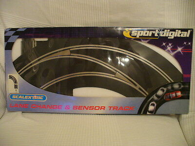 Scalextric Sport Digital C7009 Lane Change Track. In To Out Left Hand. New