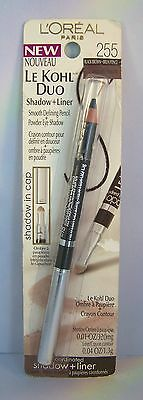 L'Oreal Le Kohl Duo Eye Shadow & Eye Liner - Select Your Shade