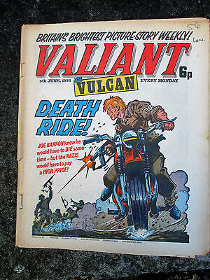 Valiant & Vulcan Comic -  dated June 5th 1976