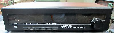 RARE VINTAGE AMSTRAD MODEL 3000 MKII LW/MW/FM/AFC TUNER and Manual