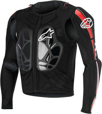Alpinestars Bionic Pro Protective Jacket Black/Red All Sizes