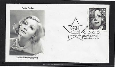 Greta Garbo Fdc 2005 New York, Ny Only One Made Actress