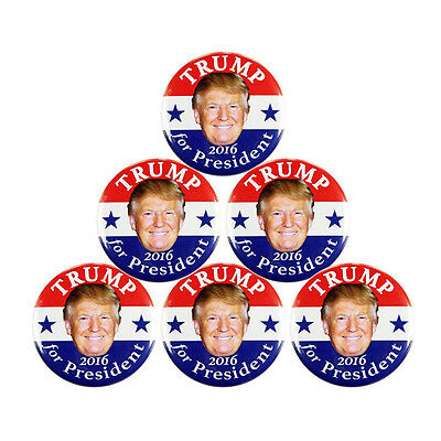 Donald Trump for President Make America Great Again Campaign Buttons