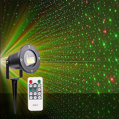 Hot Glow Bright Christmas Laser Light Show DELUXE with Remote Control Tripod