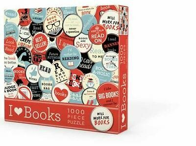 Puzzle I Heart Books 9781423640950 (Other printed item, 2015)