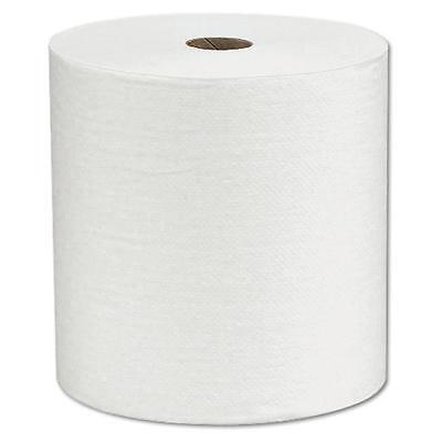 Kimberly-Clark KCC 01000 Scott Hard Roll Towel 8 in. X 1000 1P White Case of 12