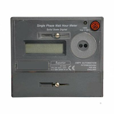 Fully Zeroed Ampy Reporter Electric Meter/electricity