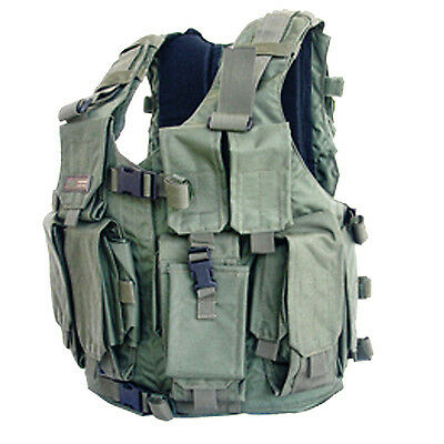 Marom Dolphin Special Forces Green Tactical Vest - TV7711