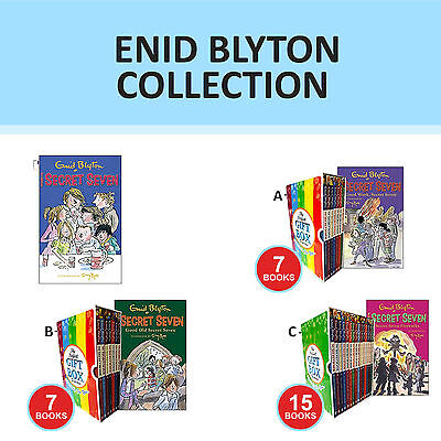 Enid Blyton The Secret Seven Collection Set Three Cheers Gift Wrapped New