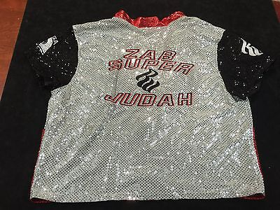 Zab Super Judah Authentic Original Boxing Shirt Worn By The Boxer