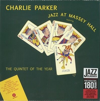 Jazz at Massey Hall (180g) 12, Charlie Parker, Vinyl, 8436542011624