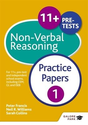 11+ Non-Verbal Reasoning Practice Papers 1: For 11+, pre-test and independent s.