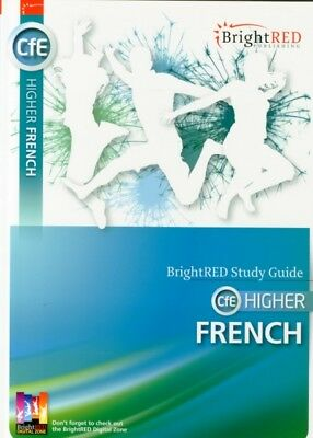 CfE Higher French (Bright Red Study Guide) (Paperback), Kelso, Ja...