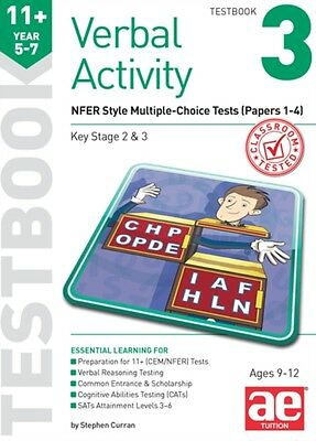 11+ Verbal Activity Year 5-7 Testbook 3: GL Assessment Style Multiple-Choice Te.