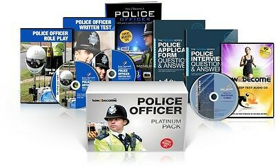 POLICE OFFICER Recruitment Platinum Package Box Set: How to Become a Police Off.