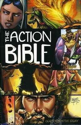 The Action Bible: God's Redemptive Story (Picture Bible) (Hardcov. 9780781444996