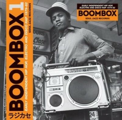 Boombox: Early Independent Hip Hop, Electro and Disco Rap 1979-82. 5026328003344