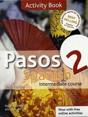 Pasos 2 Spanish Intermediate Course 3rd Edition revised: Activity Book (Paperba.
