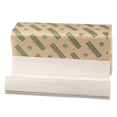 Bwk Green Folded Towels C-Fold Natural White 10 1/8W x 13L 150/Pack 16/Carton