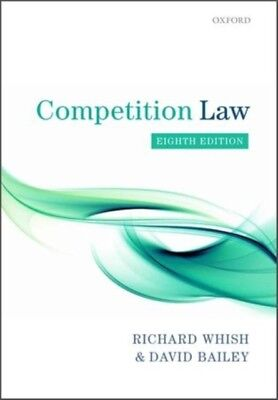 Competition Law (Paperback), Whish, Richard, Bailey, David, 9780199660377