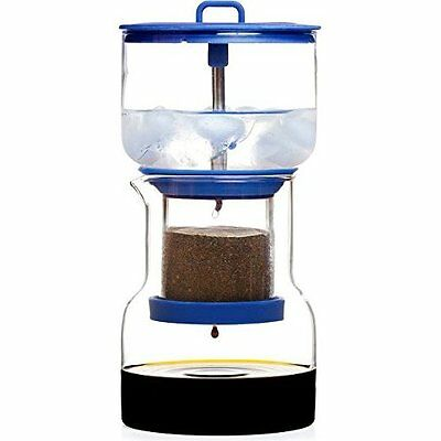 NEW Cold Bruer 20 Ounce Drip Coffee Maker - Blue